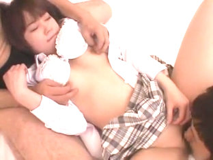 Fabulous Japanese model Mahiro Aine in Horny Cunnilingus, Handjobs JAV movie