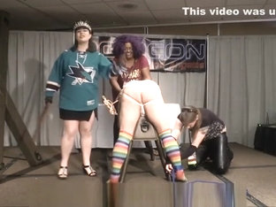Because It's The Cup - Hockey FemDom Punishment Mistresses Spanking
