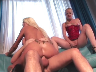 Best pornstars Michelle Mclaren and Anita Blue in amazing threesome, lingerie adult video