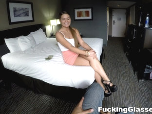 Fucking Glasses - Abby Cross - Slurping fuck with Texan babe