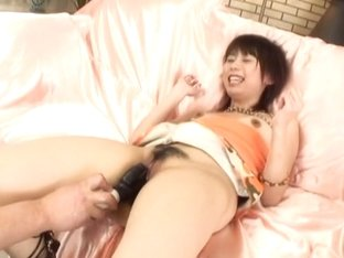 Maho Sawai gets stuffed by a couple of dildos