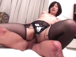 Amazing Japanese model Kanade Tomose in Hottest Stockings, Amateur JAV video