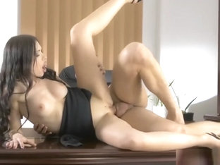 Stunning Babe Sasha Rose Cum In Mouth And Swallows It