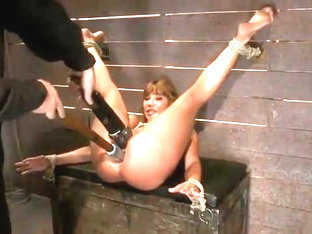 Awesome Ava Devine in real BDSM action