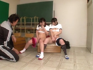Hottest Japanese models Mamiru Momone, Mari Kobayashi in Amazing JAV censored Swallow, Gangbang sc.