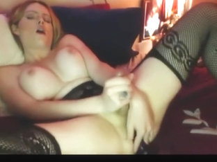 hot blonde ts jerk and cum comp