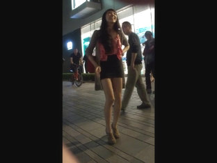 leggy Asian needs public gangbang and breeding