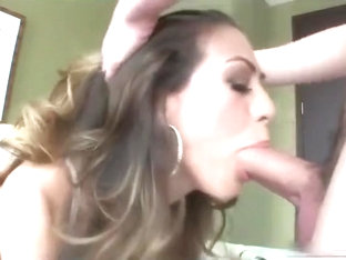 Heather Vahn Gives One Hell Of a Sloppy BJ