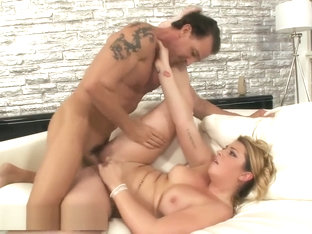 Jenna Ashley gets a hot facial