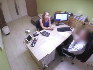 LOAN4K. Agent can give babe credit only if she satisfies sex needs