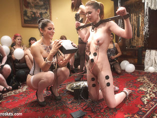 Justine Joli & Beretta James & Audrey Rose in Happy Birthday Justine Joli - Electrosluts