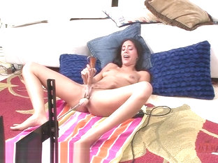 Lyla Storm Gets a Good Fucking From the Fuck Machine