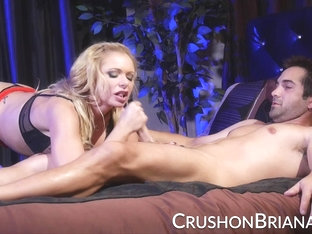 Crush Girls - Big tit Briana Banks fucked in her heels