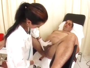 nurse give enema and prostate massage