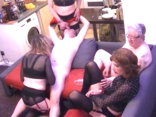 Part 2 of Transgirl Orgy with 3 girls and 2 guys