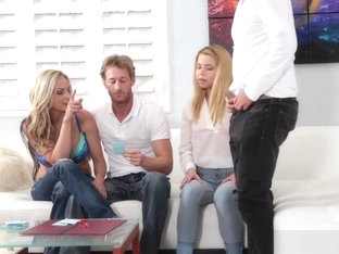 Stepsister Alina West Bangs With Her Stepbro