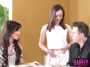 Wild threesome fuck fest with Lily Jordan and Jennifer White