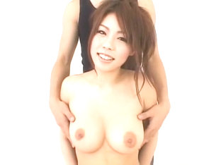 Crazy Japanese girl Haruka Sanada in Fabulous Big Tits JAV movie