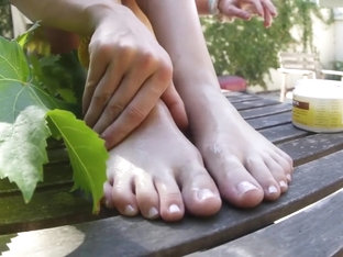 every frame of Caroline sweet delicious feet