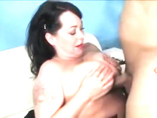 Chunky Brunette Betty Paige Fucks In Exchange For Cash