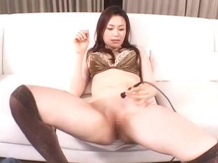 Incredible Japanese girl Erika Kirihara, Haruka Sanada, Akari Satsuki in Exotic Stockings, Close-u.