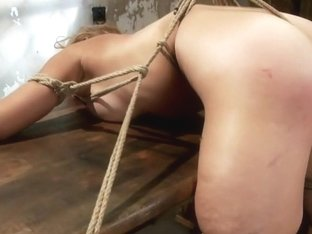 Amazing Carly Simon look alike hopelessly struggles Orgasms ripped from her helpless body Brutal