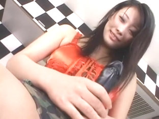 Horny Japanese slut China Miyu in Exotic Toys JAV scene