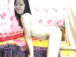 Little Horny April Shows It All
