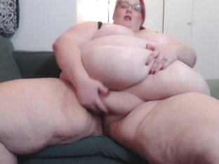 SSBBW Manda Clit Tease And Masturbation!