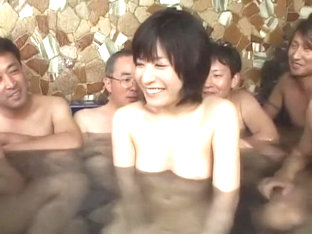 Best Japanese girl An Nanba in Crazy Gangbang JAV clip