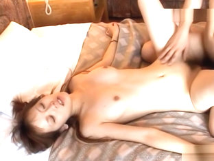 Rena rides cock like a maniac!